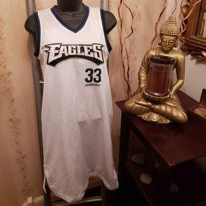 REEBOK EAGLES JERSEY DRESS #33